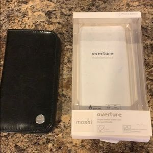 Accessories - Vegan leather wallet case iPhone X